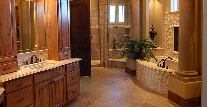 Bathrooms willis builders inc for Bathroom builders